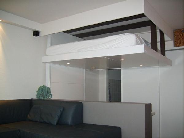 lit relevable plafond - Lit Escamotable Plafond
