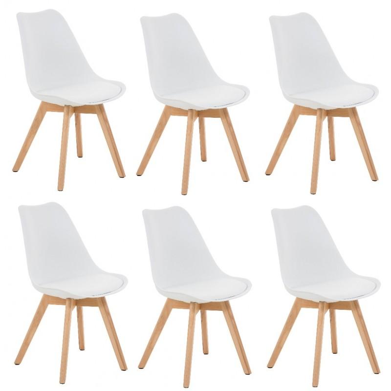 best voici la slection meuble chaise et dco scandinave pour vous chaise scandinave pied blanc with chaise scandinave blanc - Pied De Chaise Scandinave