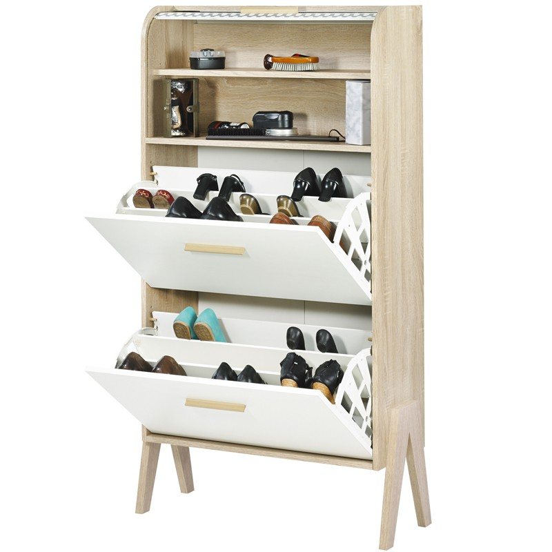 meuble chaussure scandinave sofag. Black Bedroom Furniture Sets. Home Design Ideas