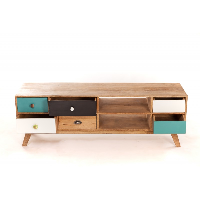 Meuble design nordique sofag - Meuble tv blanc scandinave ...
