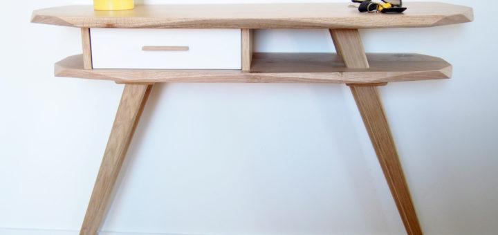 console scandinave bureau console scandinave tiroirs couleur amazonfr cuisine u maison console. Black Bedroom Furniture Sets. Home Design Ideas