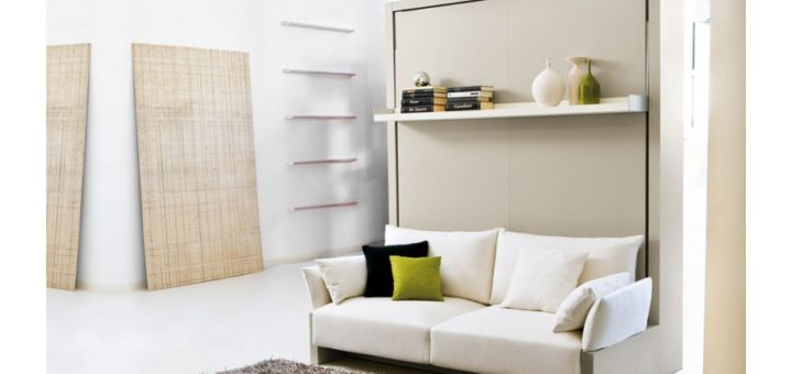 Maison armoire lit - sofag