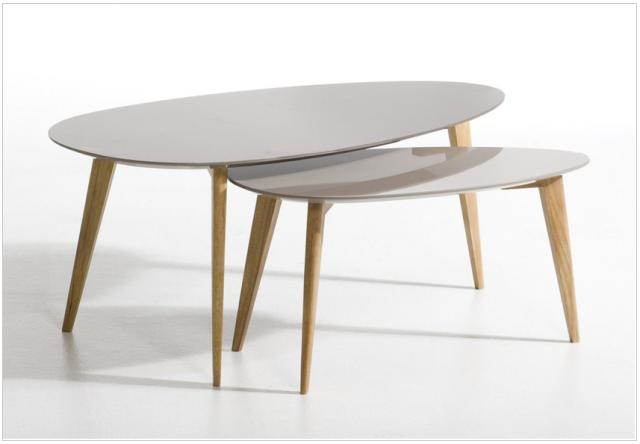 table de salon style scandinave - sofag