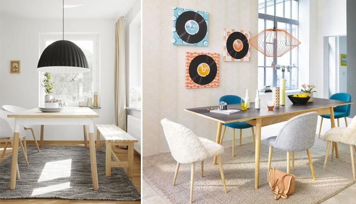 Table salle a manger style scandinave sofag - Treteaux pour table salle manger ...