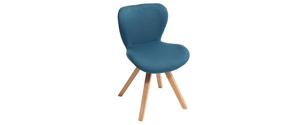 Chaise bleu scandinave sofag for Chaise scandinave bleu