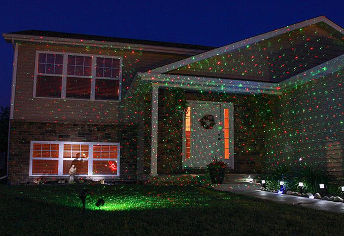 Deco noel maison laser - sofag