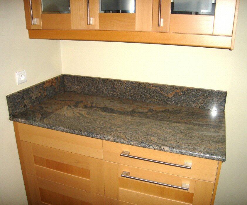 Couleur granite plan de travail cuisine sofag - Plan de travail cuisine en granit prix ...
