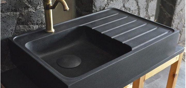 Evier cuisine marbre - sofag
