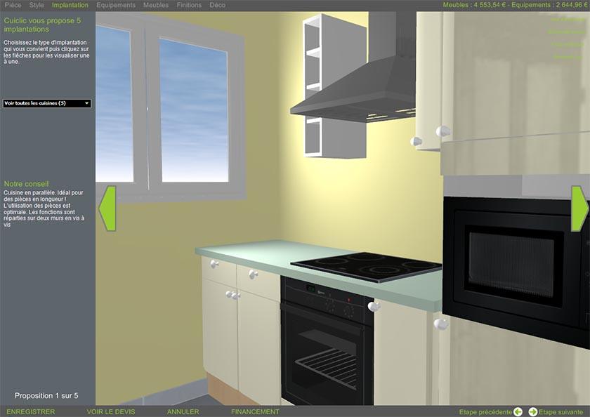 Concevoir ma cuisine en 3d sofag - Concevoir sa maison en 3d ...
