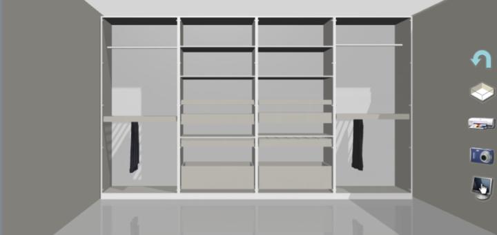 Logiciel dressing 3d gratuit sofag for Conception dressing 3d gratuit