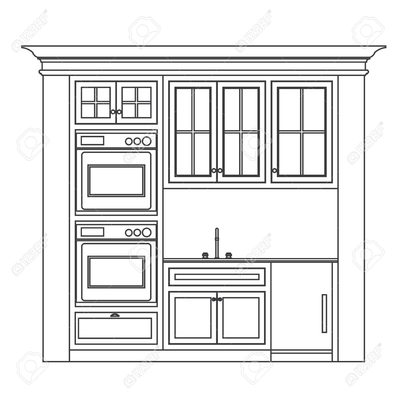 dessiner cuisine en ligne sofag. Black Bedroom Furniture Sets. Home Design Ideas