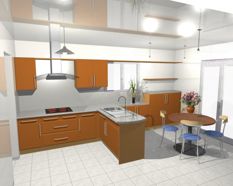 Concevoir cuisine 3d sofag - Concevoir sa maison en 3d ...
