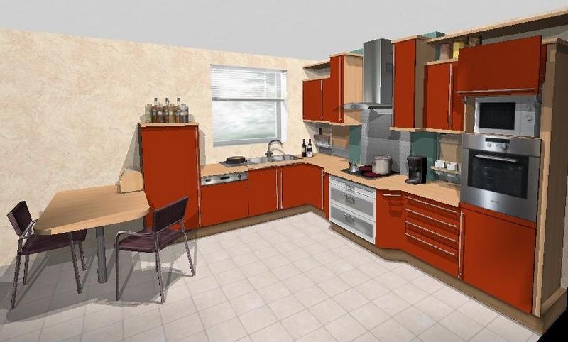 Faire un plan de cuisine en 3d sofag - Dessin cuisine 3d ...