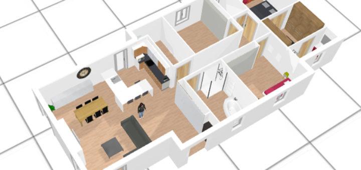 Cr er une maison en 3d sofag for Faire une maison en 3d