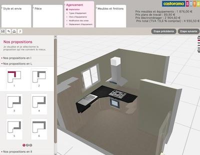 Logiciel simulation cuisine 3d gratuit sofag Cuisine 3d en ligne sans telechargement