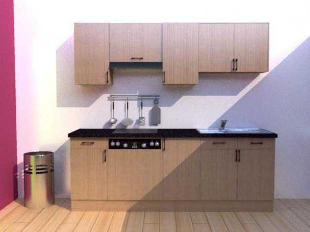 planification cuisine 3d sofag. Black Bedroom Furniture Sets. Home Design Ideas