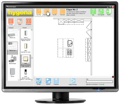 logiciel cuisine 3d cuisinella sofag. Black Bedroom Furniture Sets. Home Design Ideas