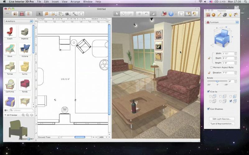 amenagement cuisine 3d sofag. Black Bedroom Furniture Sets. Home Design Ideas