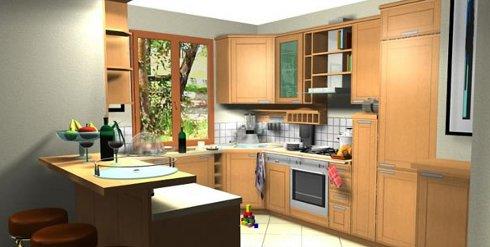 logiciel gratuit cuisine 3d sofag. Black Bedroom Furniture Sets. Home Design Ideas