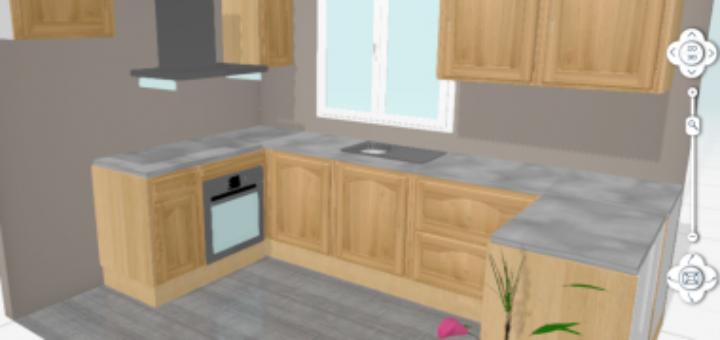 Logiciel gratuit plan cuisine 3d sofag - Ma maison en 3d gratuit ...