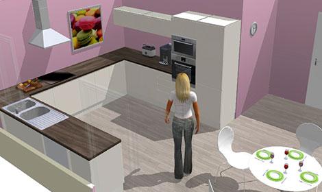 Cuisine simulation en ligne sofag - Logiciel de plan de cuisine 3d gratuit ...