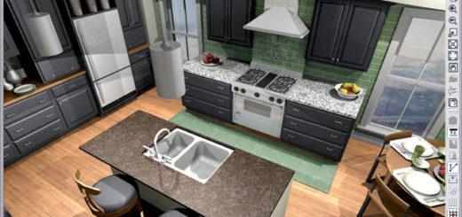 Cuisine 3d sofag for Logiciel conception cuisine 3d gratuit