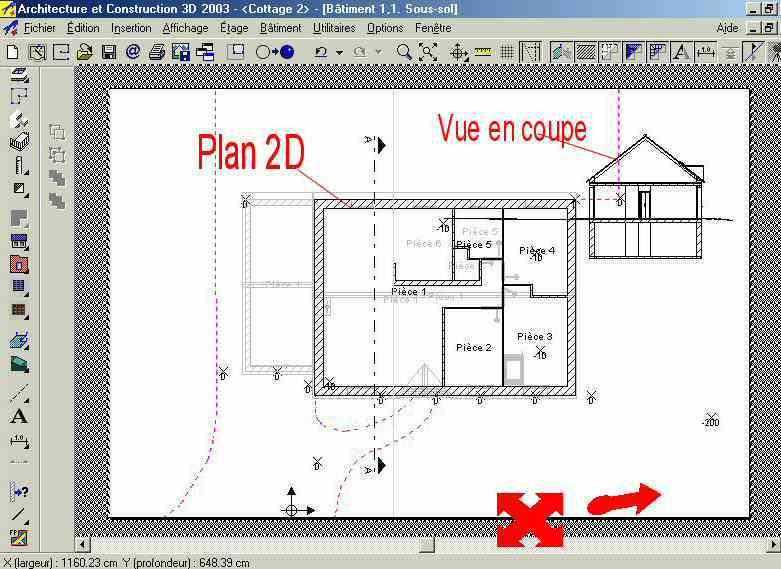logiciel gratuit construction maison sofag. Black Bedroom Furniture Sets. Home Design Ideas