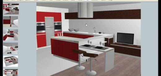 dessiner sa cuisine 3d sofag. Black Bedroom Furniture Sets. Home Design Ideas