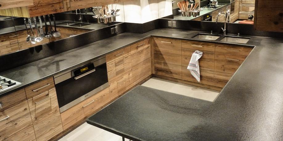 plan de travail cuisine en pierre sofag. Black Bedroom Furniture Sets. Home Design Ideas
