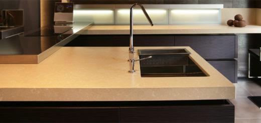 Table en marbre cuisine sofag for Plan de travail en pierre naturelle