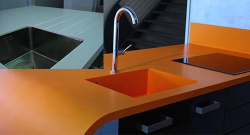 plan de travail r sine sur mesure sofag. Black Bedroom Furniture Sets. Home Design Ideas