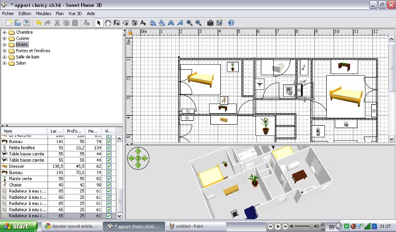 logiciel architecture gratuit 3d sofag. Black Bedroom Furniture Sets. Home Design Ideas
