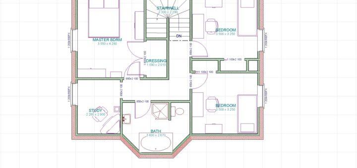 Plan de maison simple sofag for Dessiner les plan de sa maison