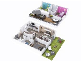 Plan maison f4 - sofag