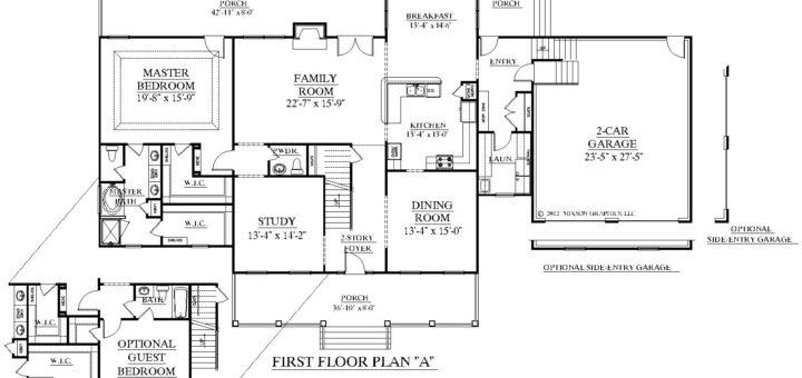 plan de maison am ricaine sofag. Black Bedroom Furniture Sets. Home Design Ideas
