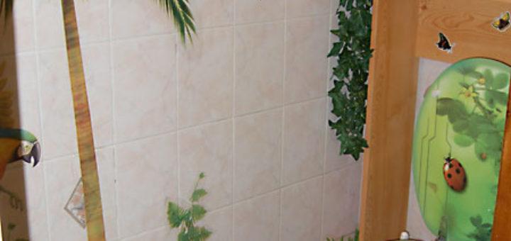 Idee deco toilette nature sofag - Decoration toilette nature ...