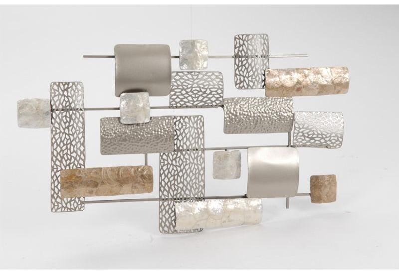 deco murale metal sofag. Black Bedroom Furniture Sets. Home Design Ideas