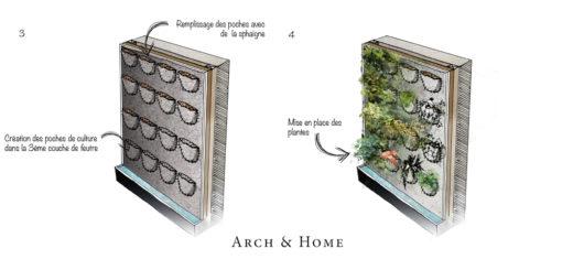Cadre Plantes Mural Sofag