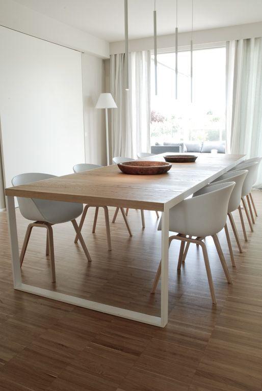 Table salle manger style scandinave sofag - Treteaux pour table salle manger ...