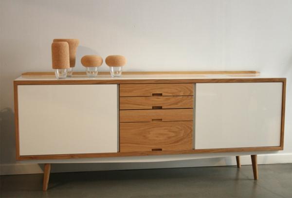 buffet esprit scandinave sofag. Black Bedroom Furniture Sets. Home Design Ideas