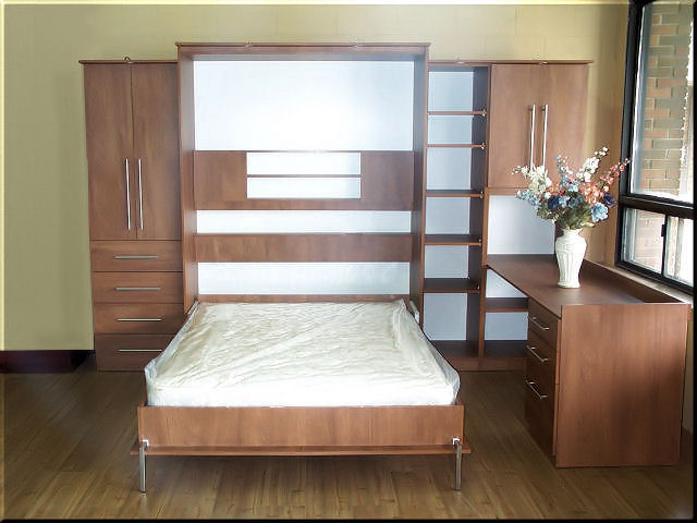 lit armoire mural sofag. Black Bedroom Furniture Sets. Home Design Ideas