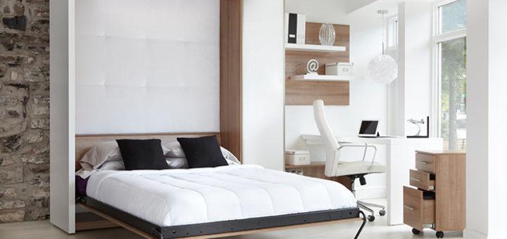 Lit armoire escamotable lectrique sofag - Lit armoire escamotable electrique ...
