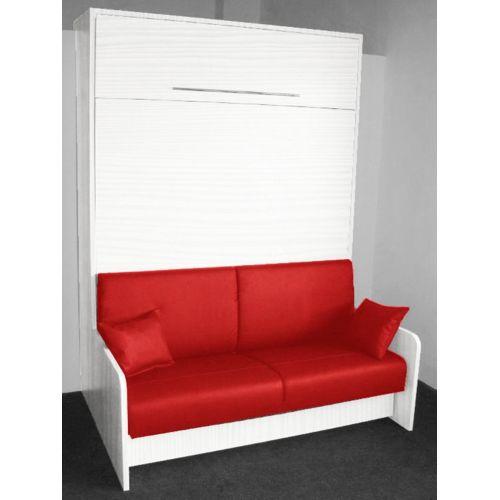 Lit escamotable superpose pour studio sofag - Lit armoire escamotable electrique ...
