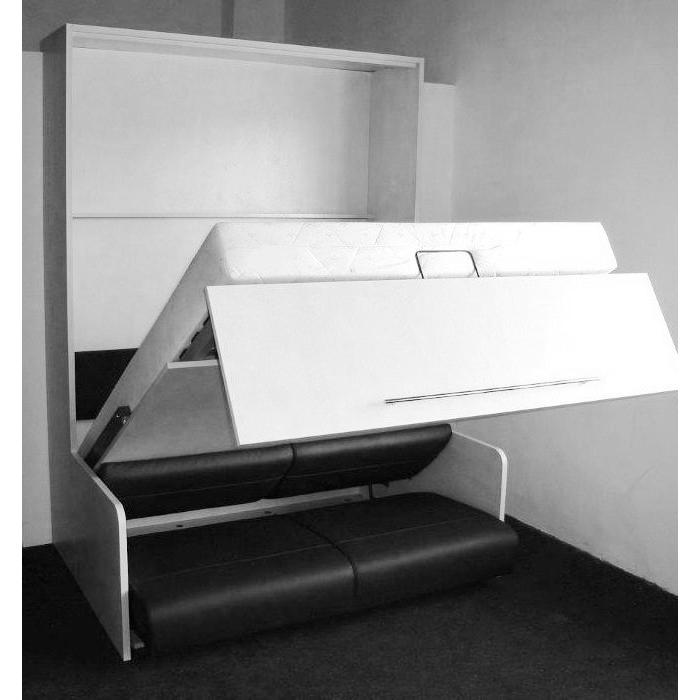 meuble avec lit escamotable pas cher sofag. Black Bedroom Furniture Sets. Home Design Ideas