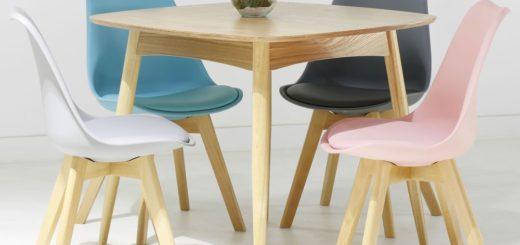 Table basse design scandinave sofag for Table basse scandinave rose