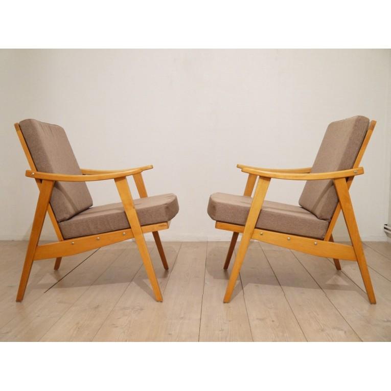 fauteuil bois scandinave sofag. Black Bedroom Furniture Sets. Home Design Ideas