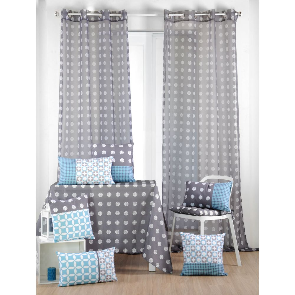 rideau esprit scandinave sofag. Black Bedroom Furniture Sets. Home Design Ideas