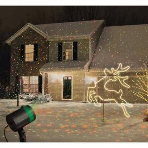 Projecteur facade noel sofag for Laser facade noel